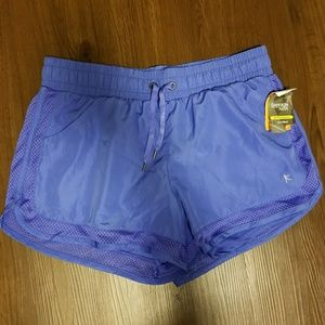 Danskin Blue Performance Running Shorts Medium NWT